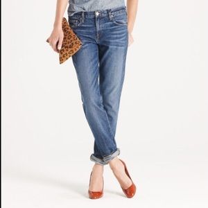 J Crew Vintage Straight Medium Wash Jeans Size 24R